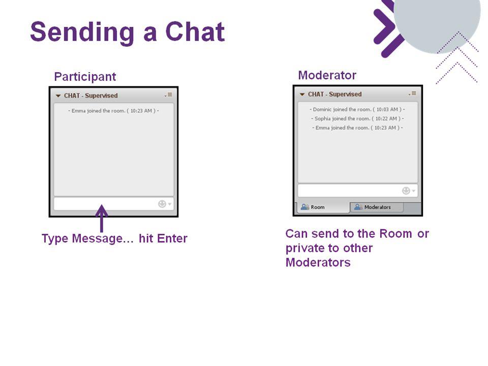 Sending a Chat