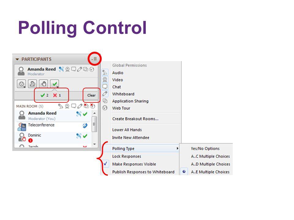 Polling Control