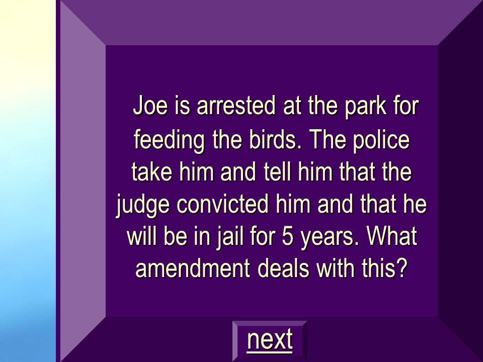 Amendment 4 Unreasonable search and seizures $800
