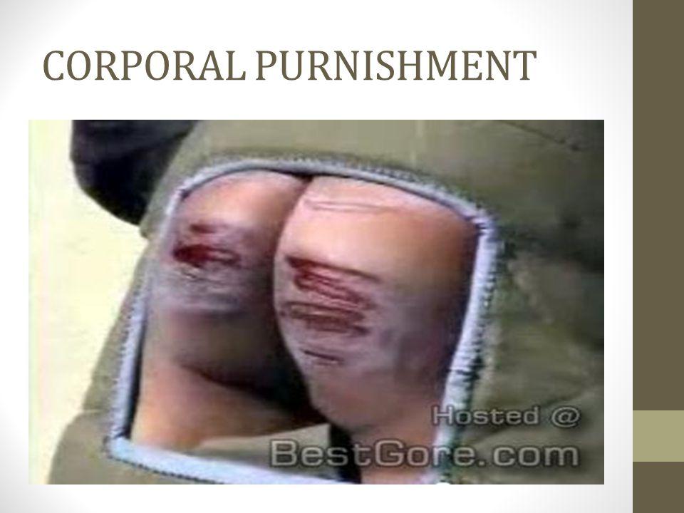 CORPORAL PURNISHMENT