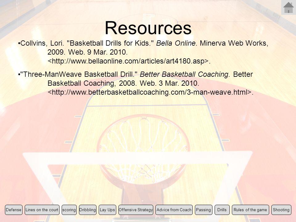 Resources Collvins, Lori.