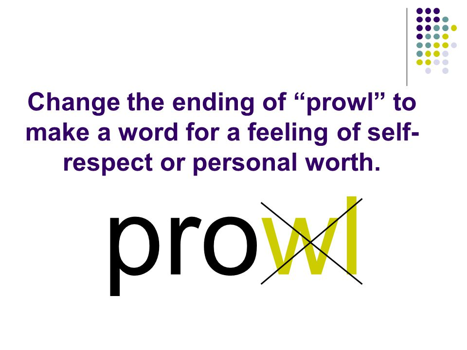 prowl You should have spelled…