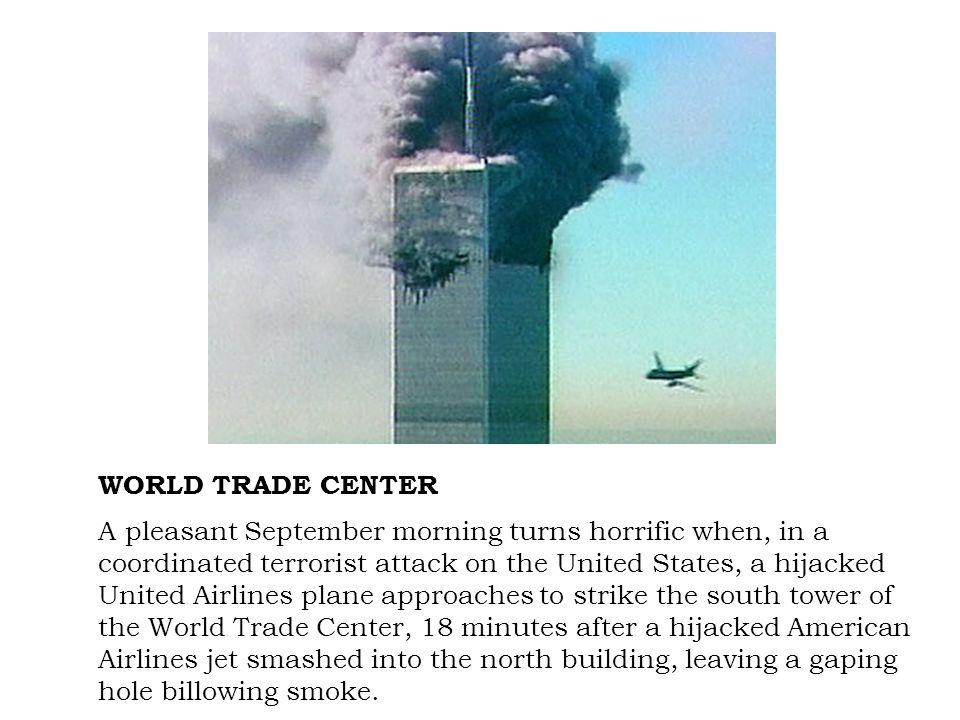 Firemen work around the World Trade Center.