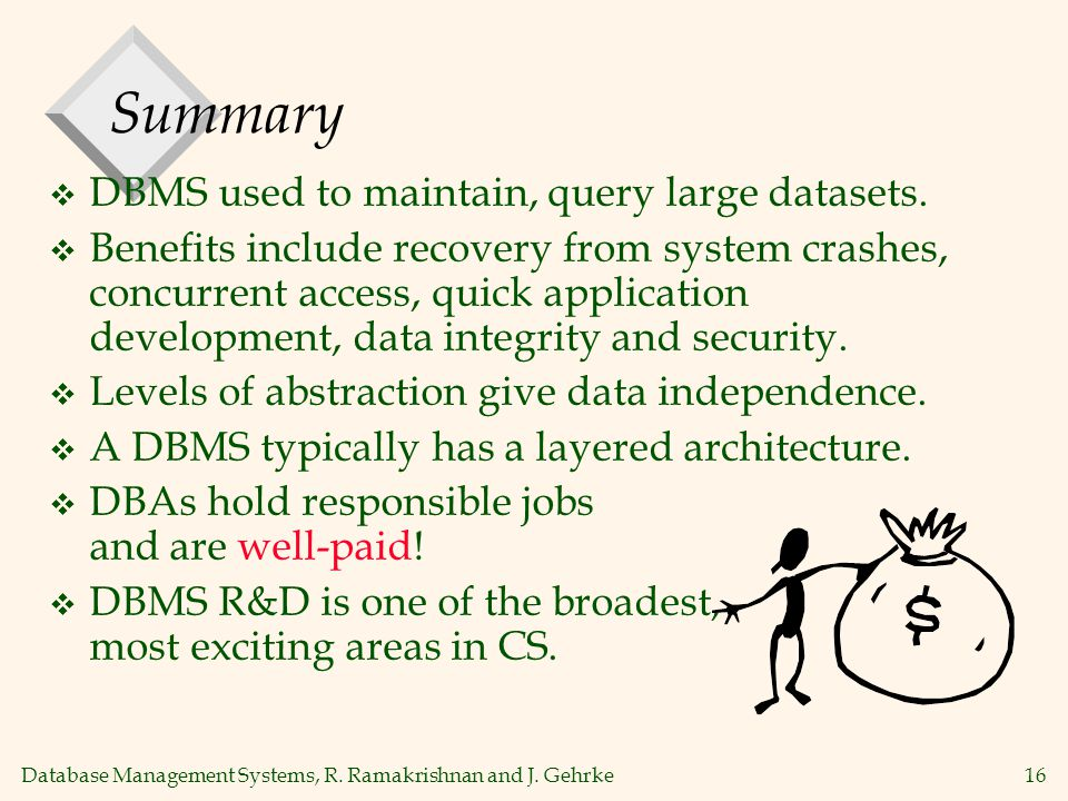 Database Management Systems, R. Ramakrishnan and J.
