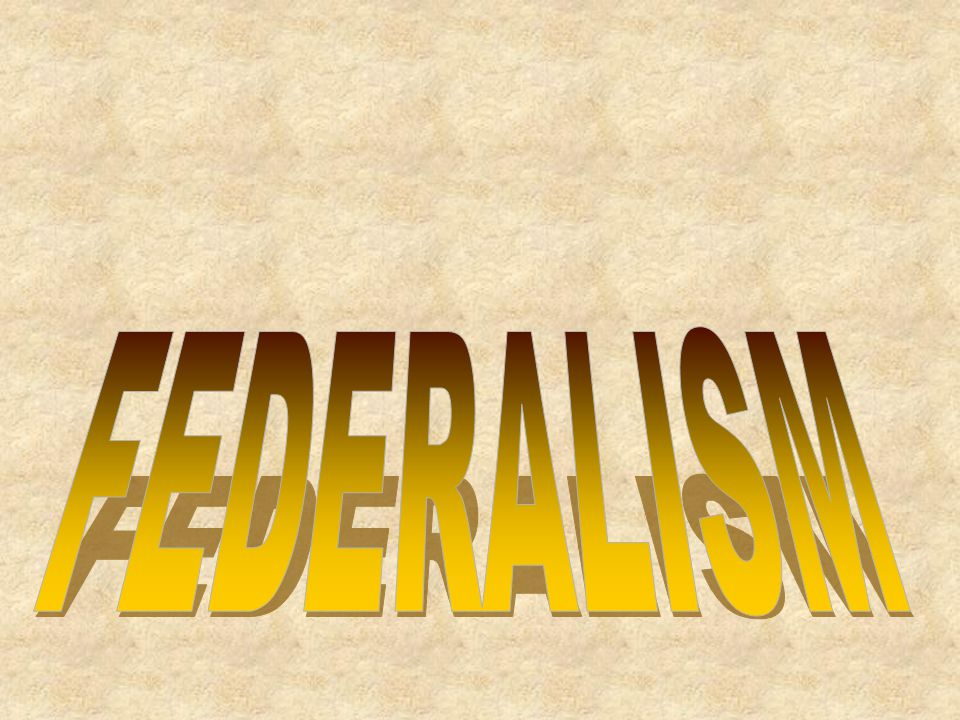 Separation of Powers and Federalism Reality Chart 1.