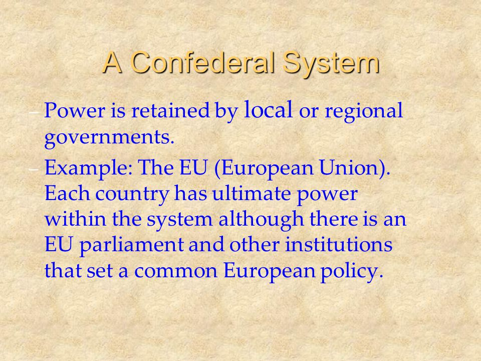 Defining Federalism What is Federalism.