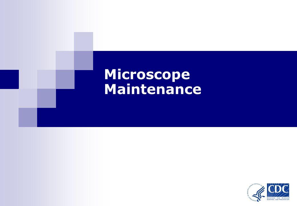 1 Microscope Maintenance