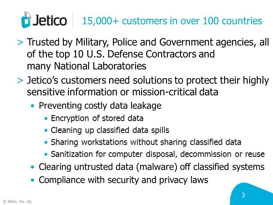 4 © Jetico, Inc.