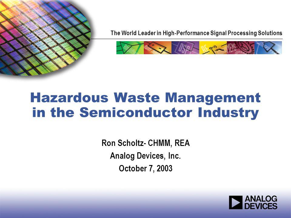 2 What is a Hazardous Waste.