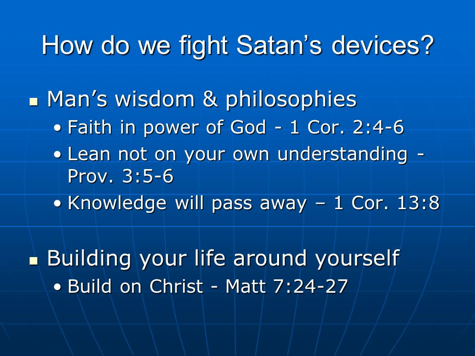 To Fight Fear & Doubt Increase your faith Increase your faith Word of God– Romans 10:17Word of God– Romans 10:17 Godly action – James 2:26Godly action – James 2:26 Prayer – Matt.