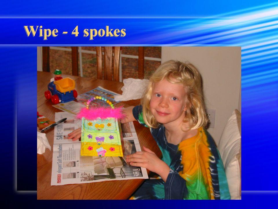 Wipe - 4 spokes