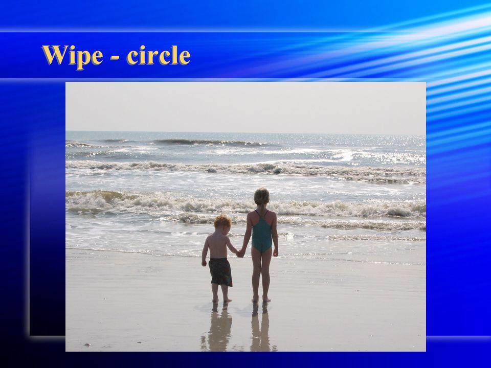 Wipe - circle