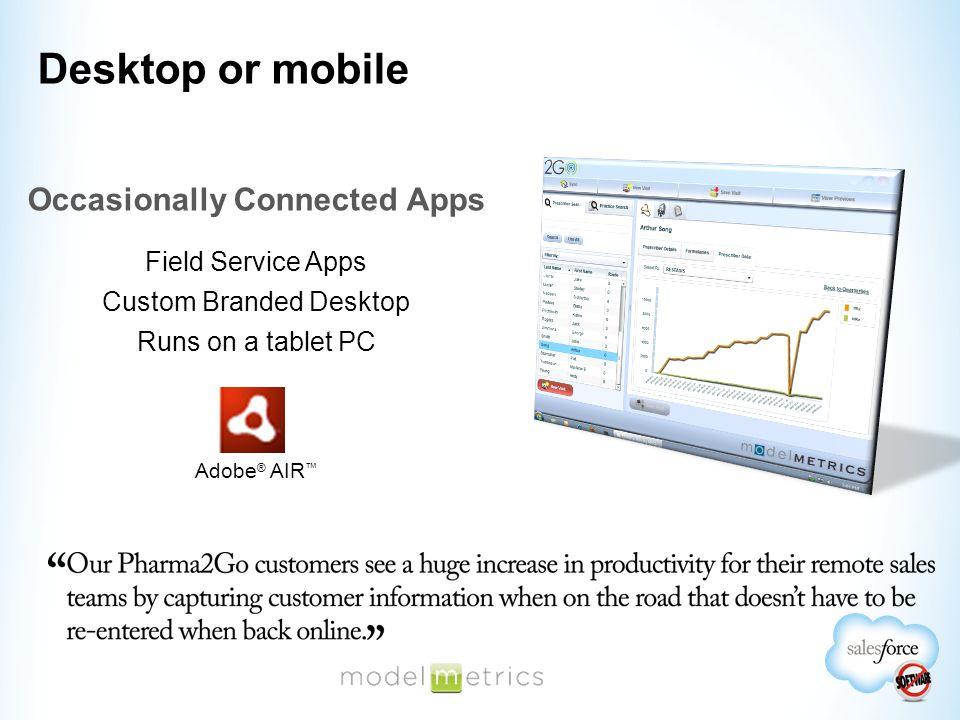 Adobe Flex 4.5  Android, iOS or BB