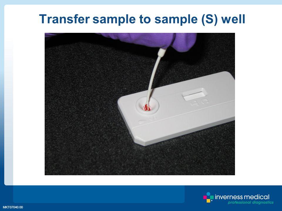 MKT07040.00 Transfer sample to sample (S) well