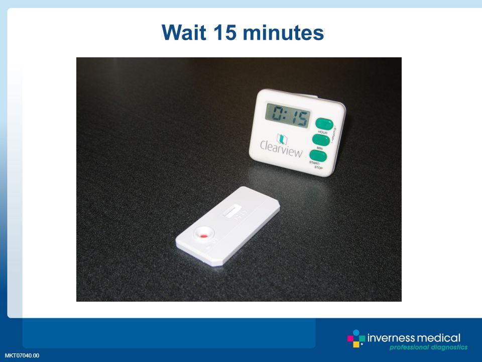 MKT07040.00 Wait 15 minutes