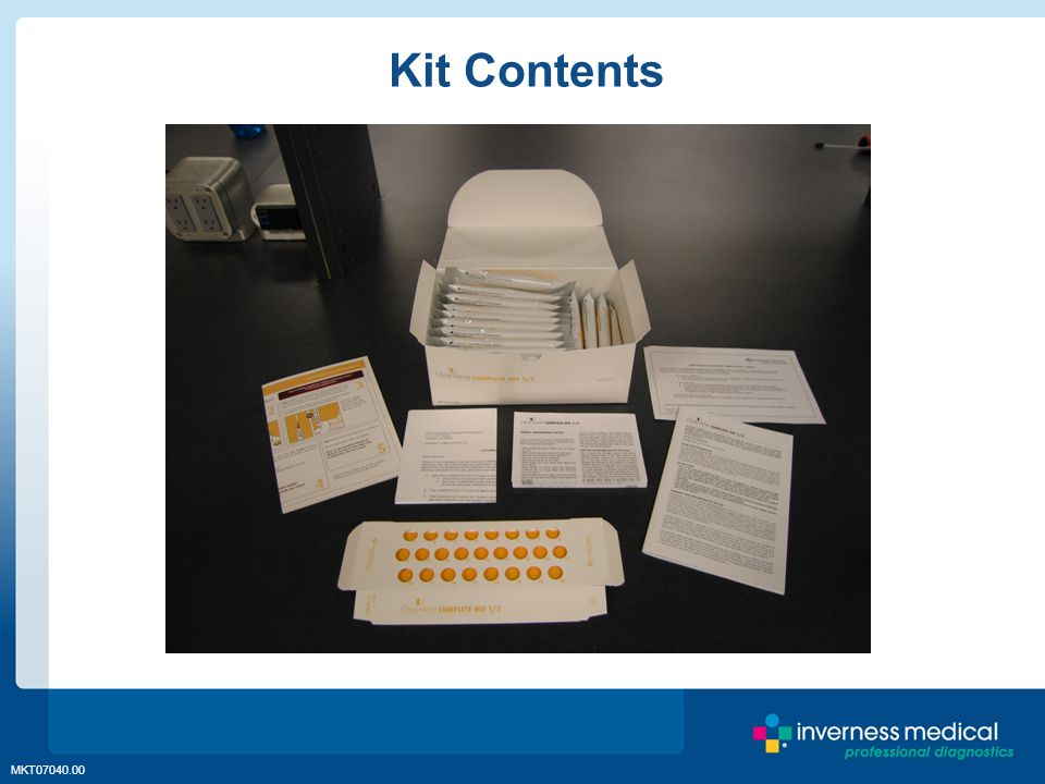 MKT07040.00 Kit Contents