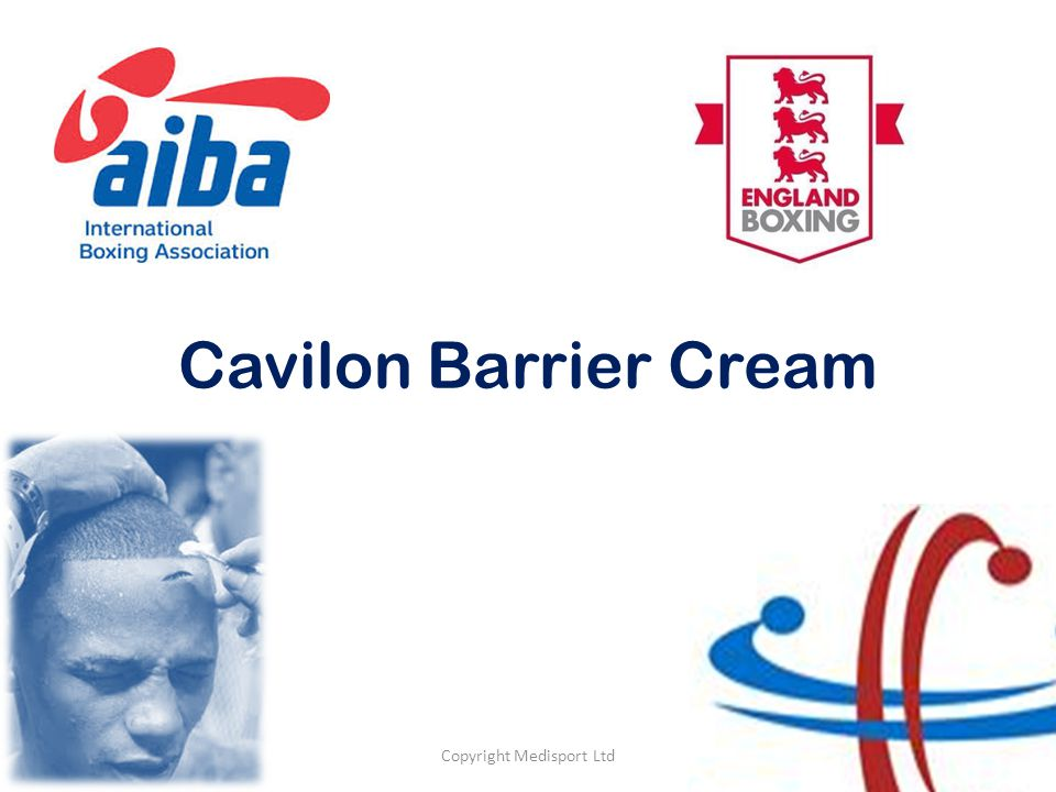 Cavilon Barrier Cream Copyright Medisport Ltd