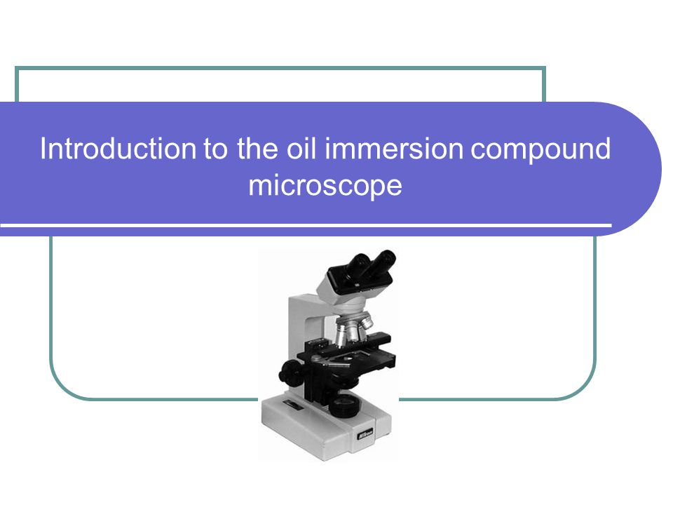 Purpose of microscope Microscopy is the technology of making very small things visible to the human eye.