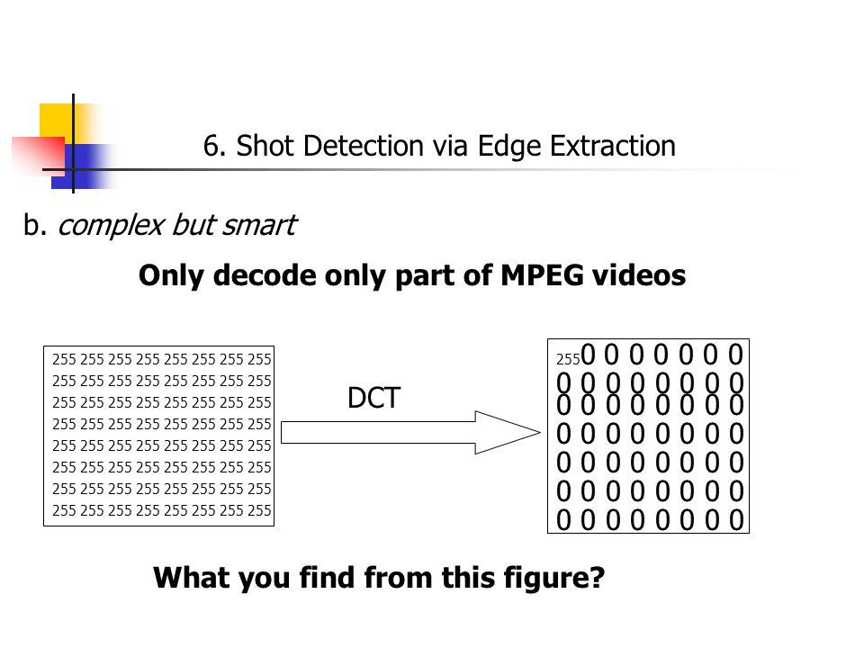 6. Shot Detection via Edge Extraction b.