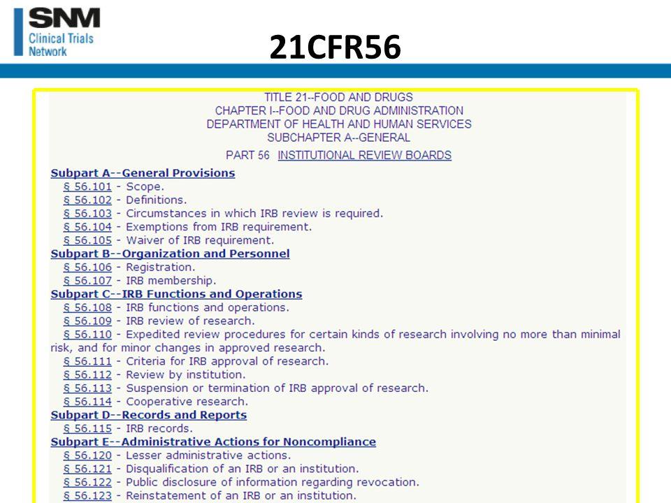 21CFR56