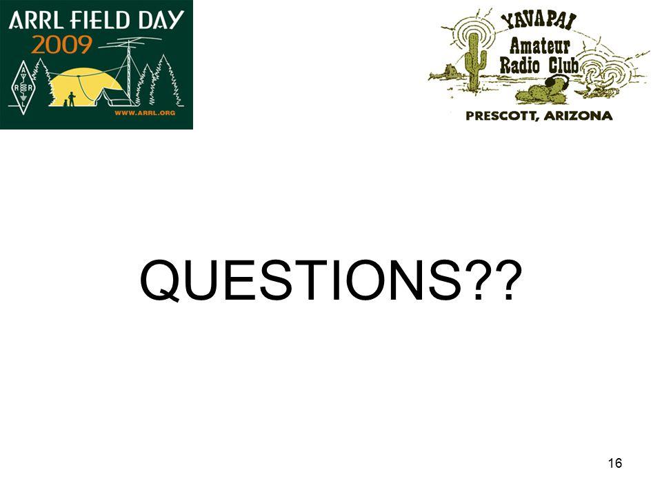 16 QUESTIONS??