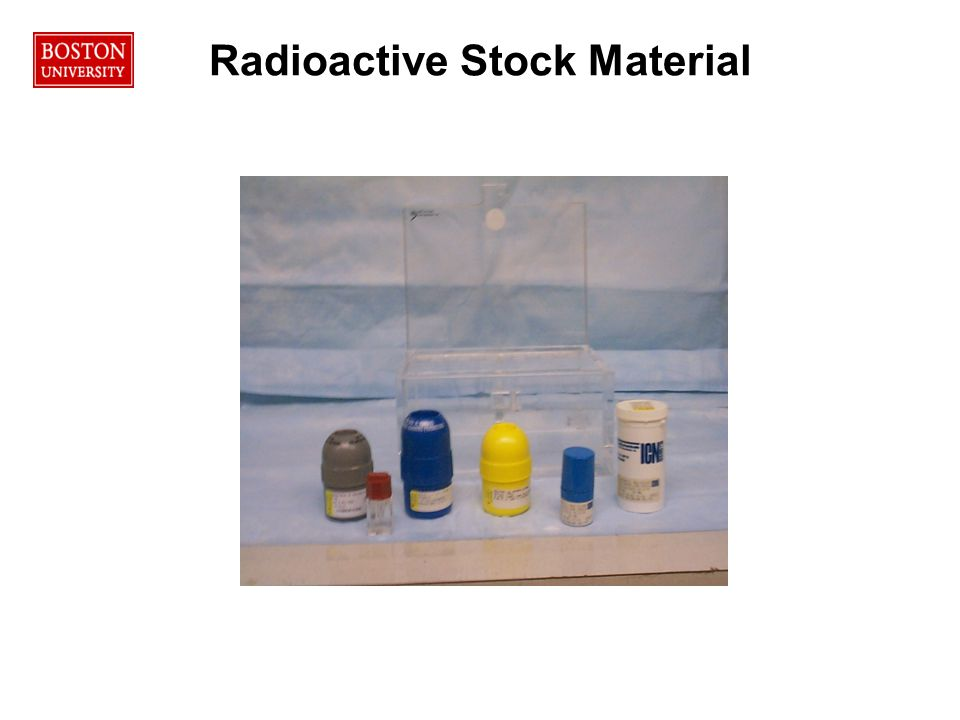 Radioactive Stock Material