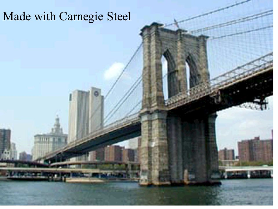 Made with Carnegie Steel