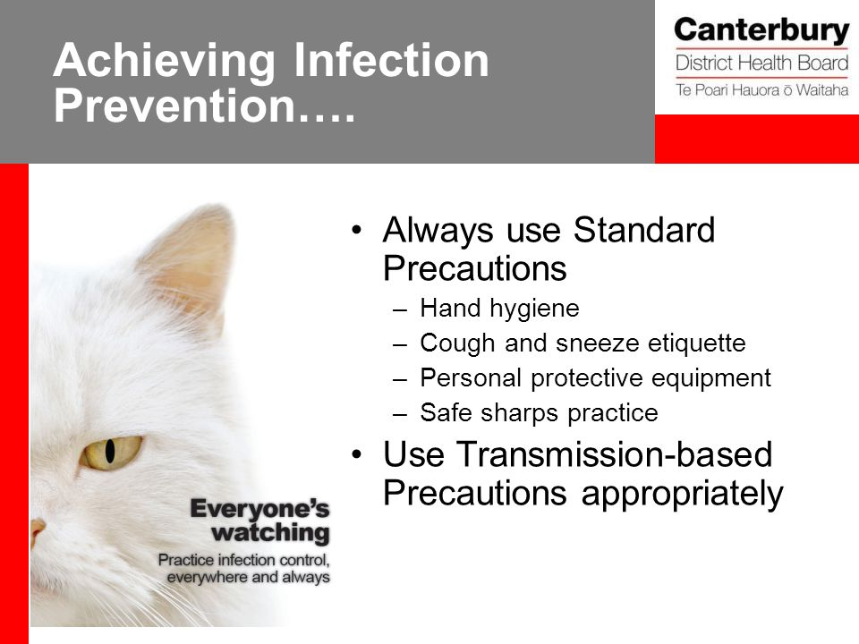Achieving Infection Prevention….