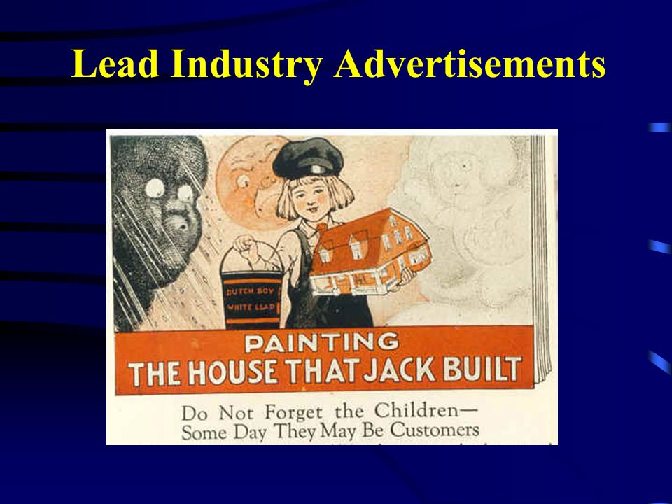 Lead Industry Advertisements