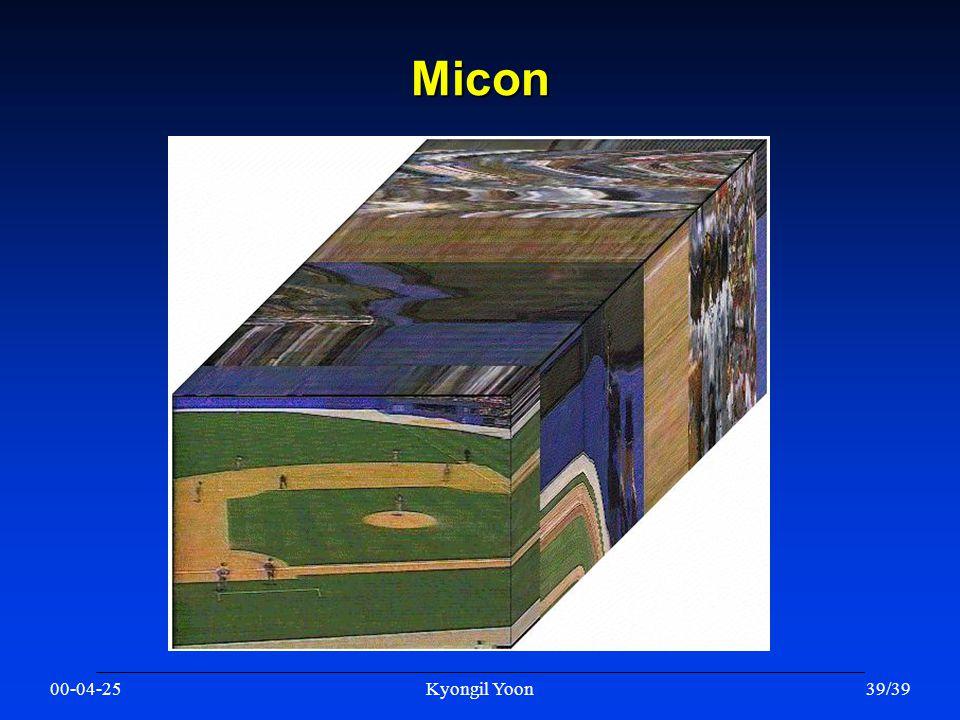 00-04-25Kyongil Yoon39/39 Micon