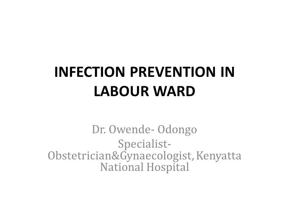 Infection prevention through proper waste management.