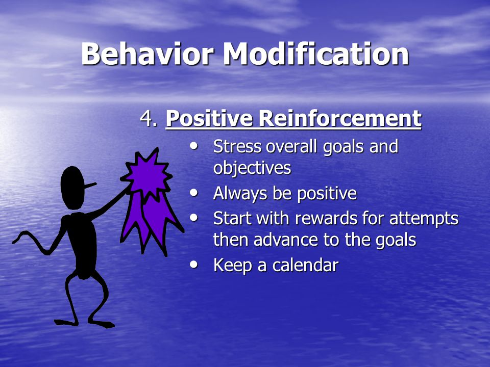 Behavior Modification 4.