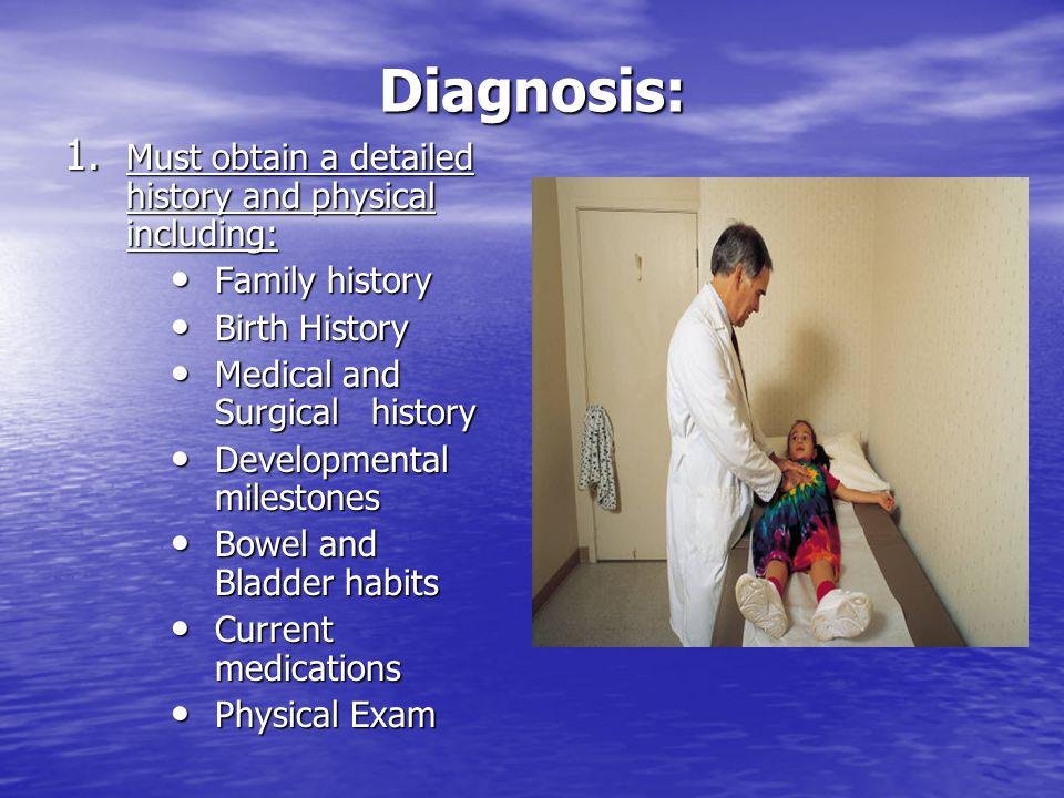 Diagnosis: 1.