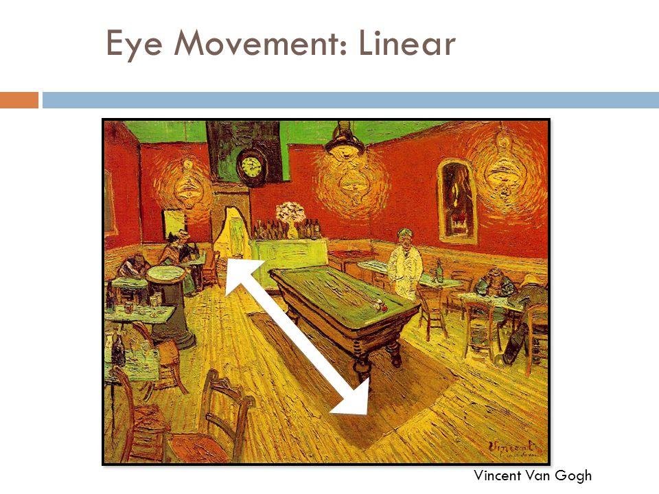 Eye Movement: Linear Vincent Van Gogh