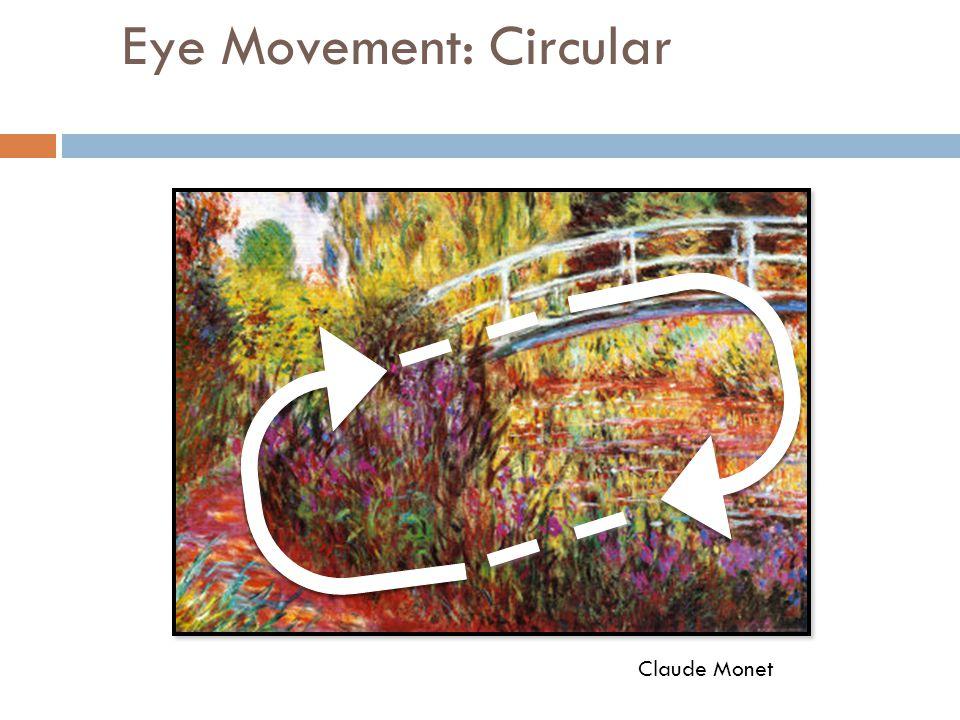 Eye Movement: Circular Claude Monet