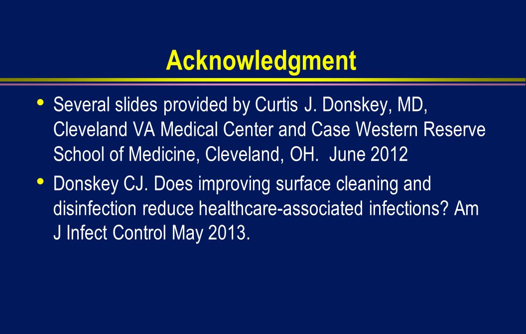 Acknowledgment Several slides provided by Curtis J.