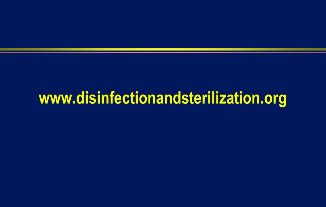 www.disinfectionandsterilization.org
