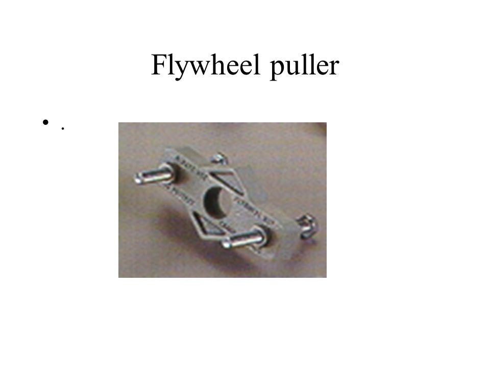 Flywheel puller.