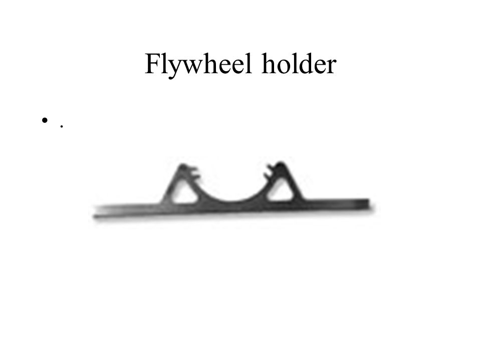 Flywheel holder.