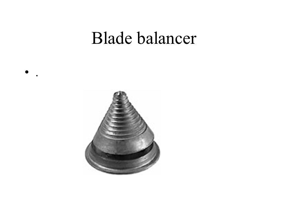Blade balancer.