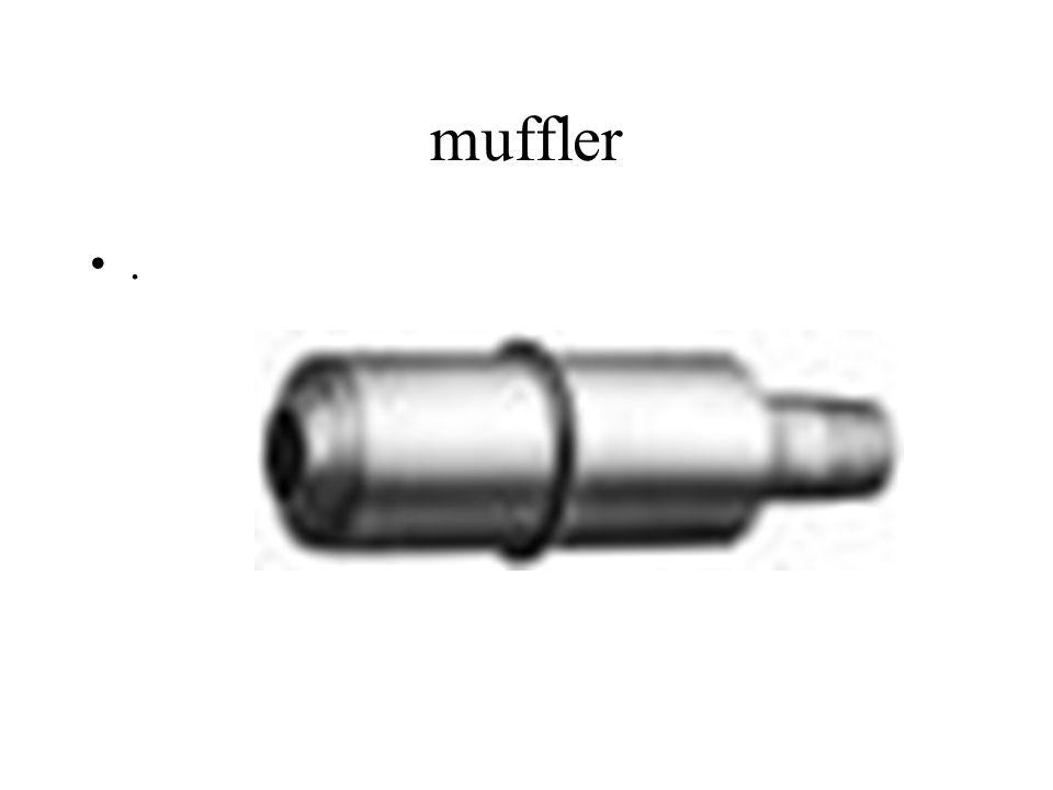muffler.