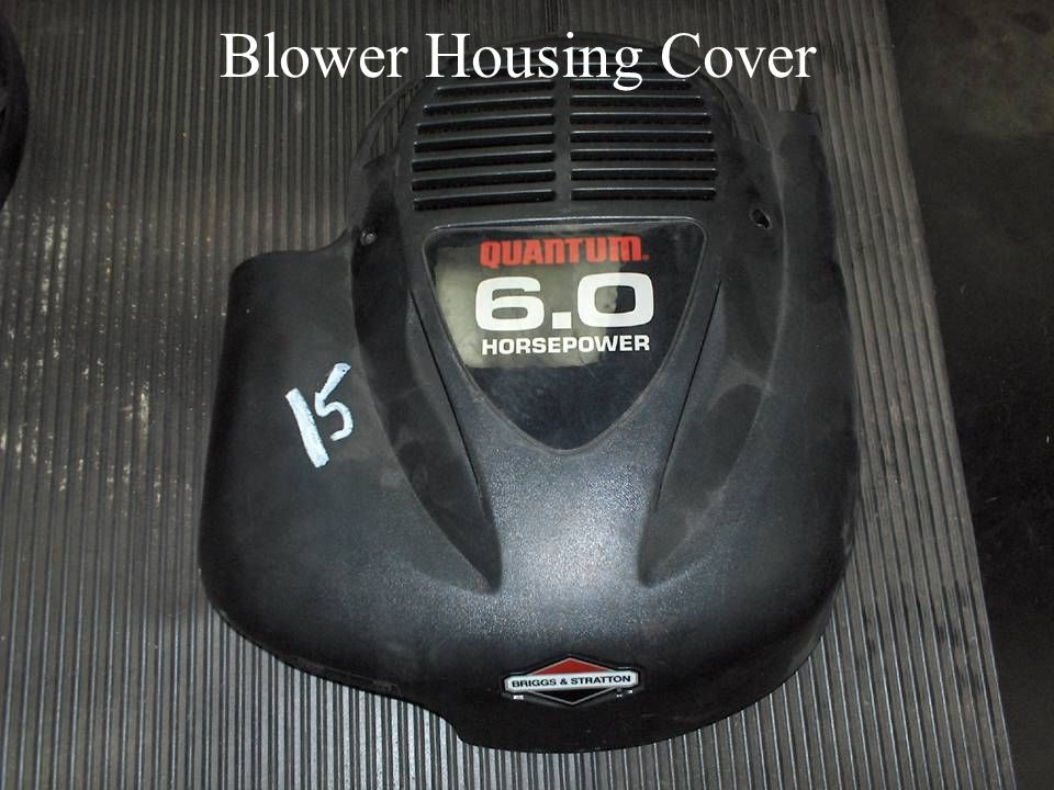 Blower Housing Cover