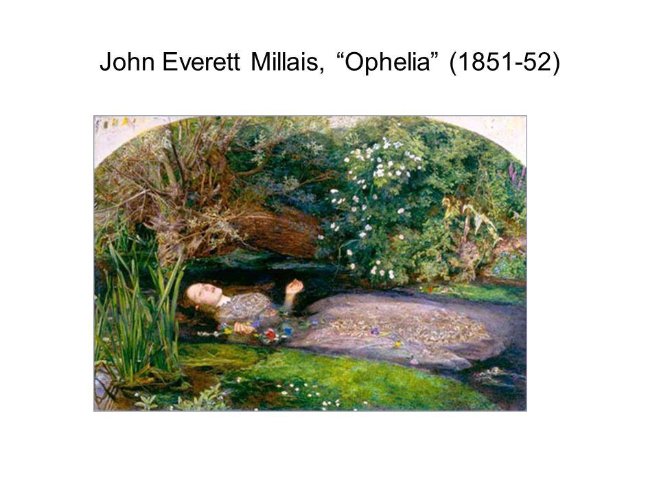 John Everett Millais, Ophelia (1851-52)
