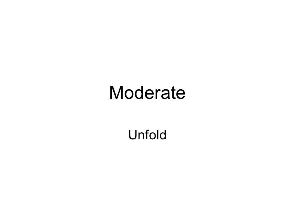 Moderate Unfold