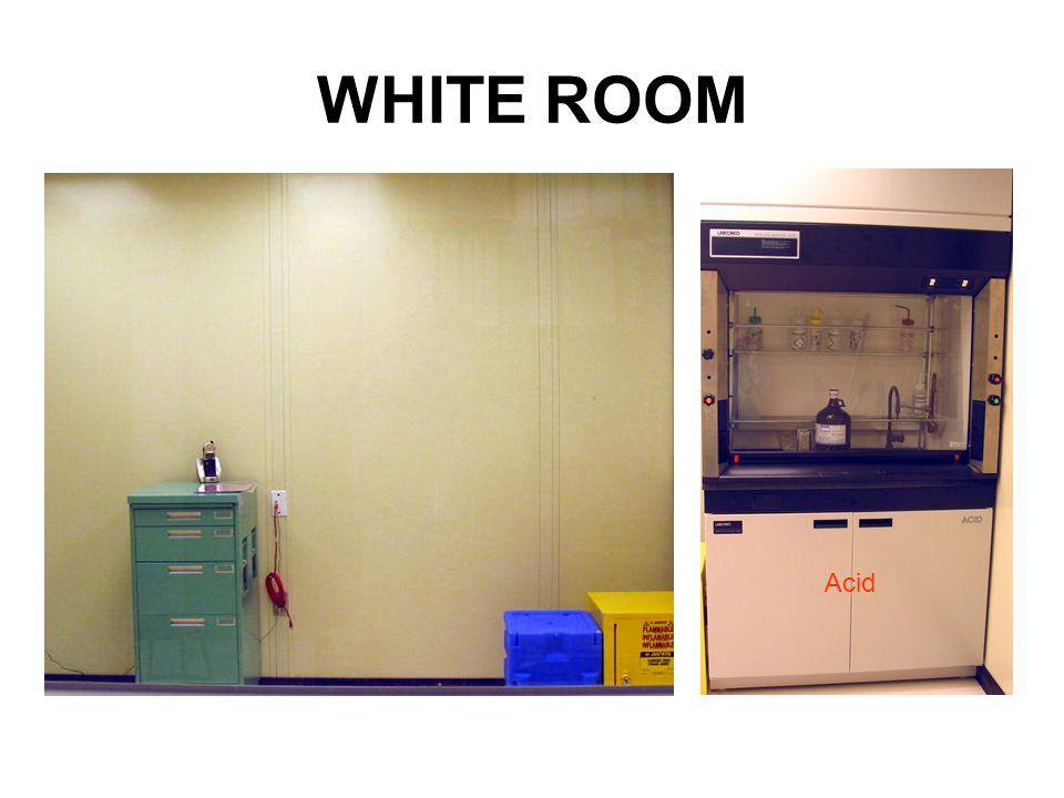 WHITE ROOM Acid