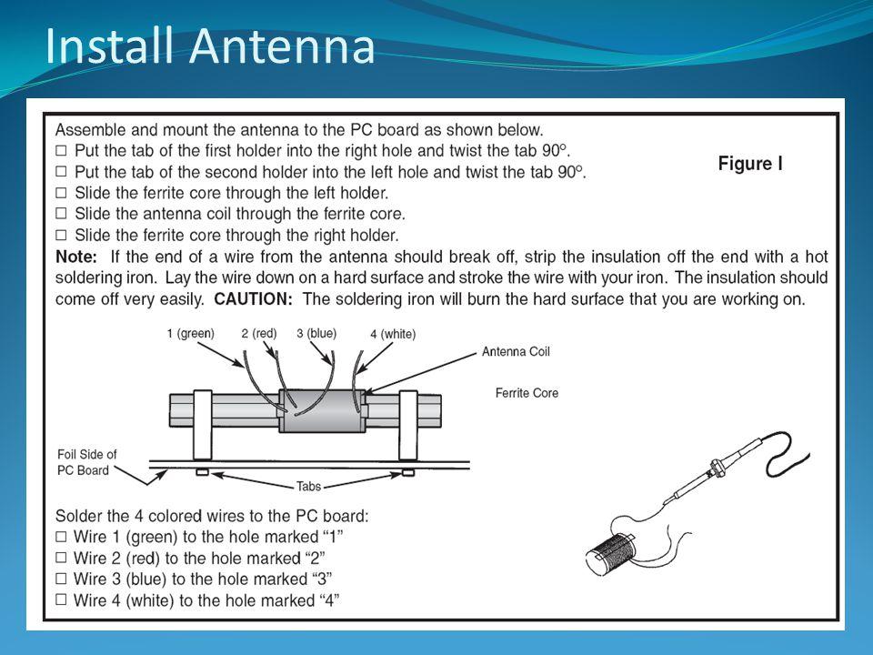 Install Antenna