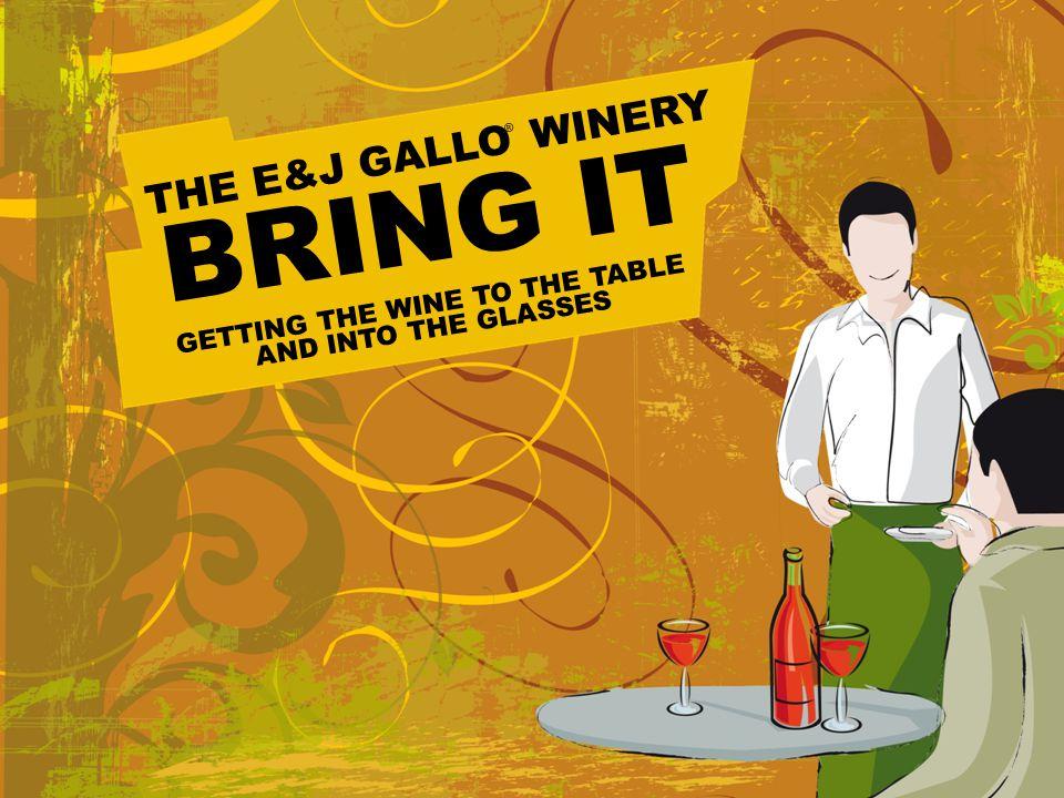 1 ©2008, Ernest & Julio Gallo Winery. Modesto. CA.