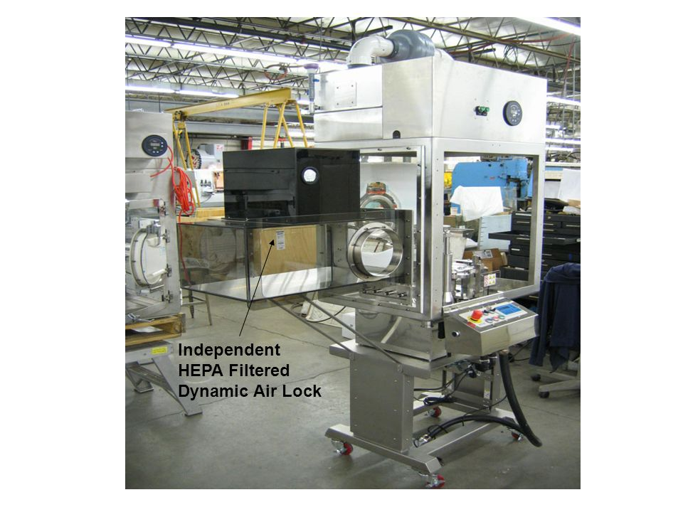 Independent HEPA Filtered Dynamic Air Lock