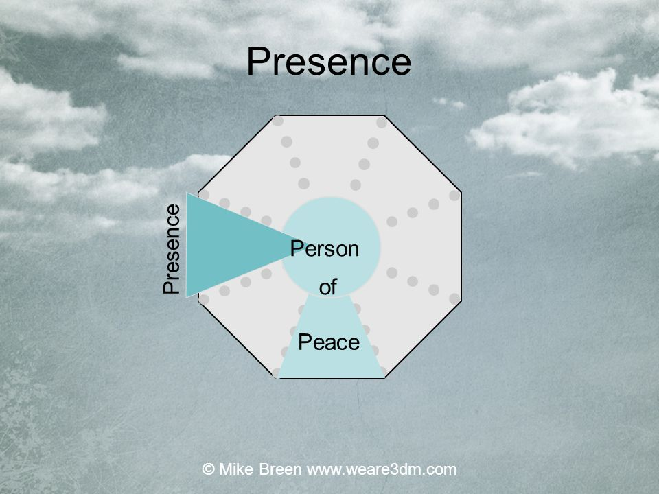 Presence Peace Person of © Mike Breen www.weare3dm.com