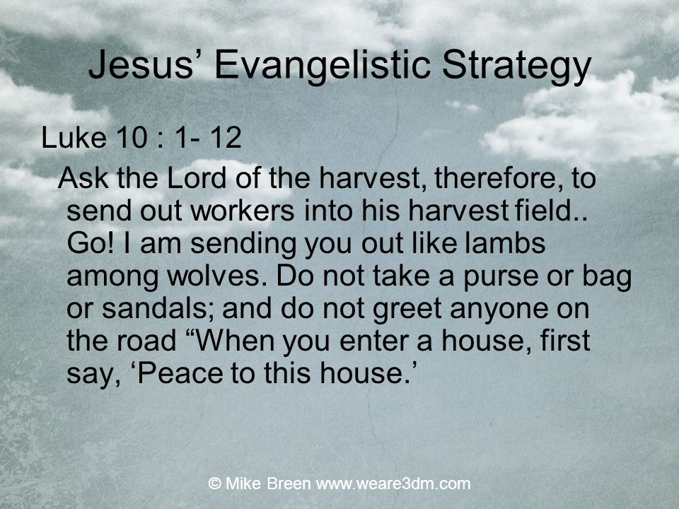 Presence Evangelism Presence evangelism occurs when you are present in a situation or with an individual or group.